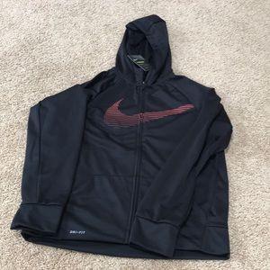 NWT! Kids boys XL  Black performance hoodie